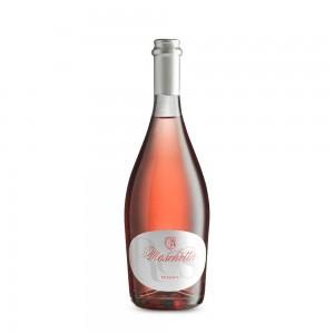 Rosé pink sparkling wine - 0.75 l - Azienda Agricola Moschetta